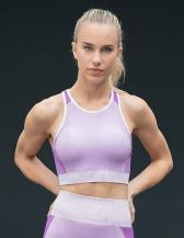 Ladies' Seamless Panelled Crop Top
