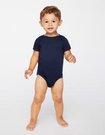 Infant Fine Jersey Short Sleeve Bodysuit
