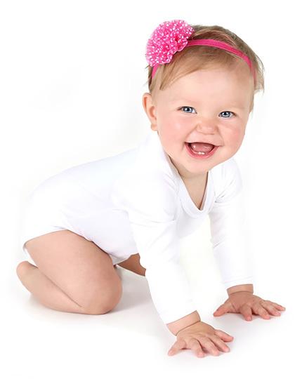 Long Sleeve Baby Bodysuit Polyester